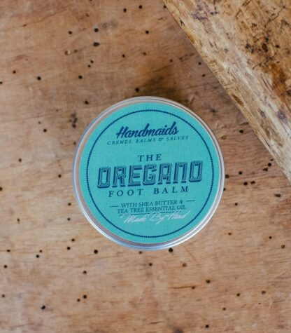 Oregano Foot Balm top